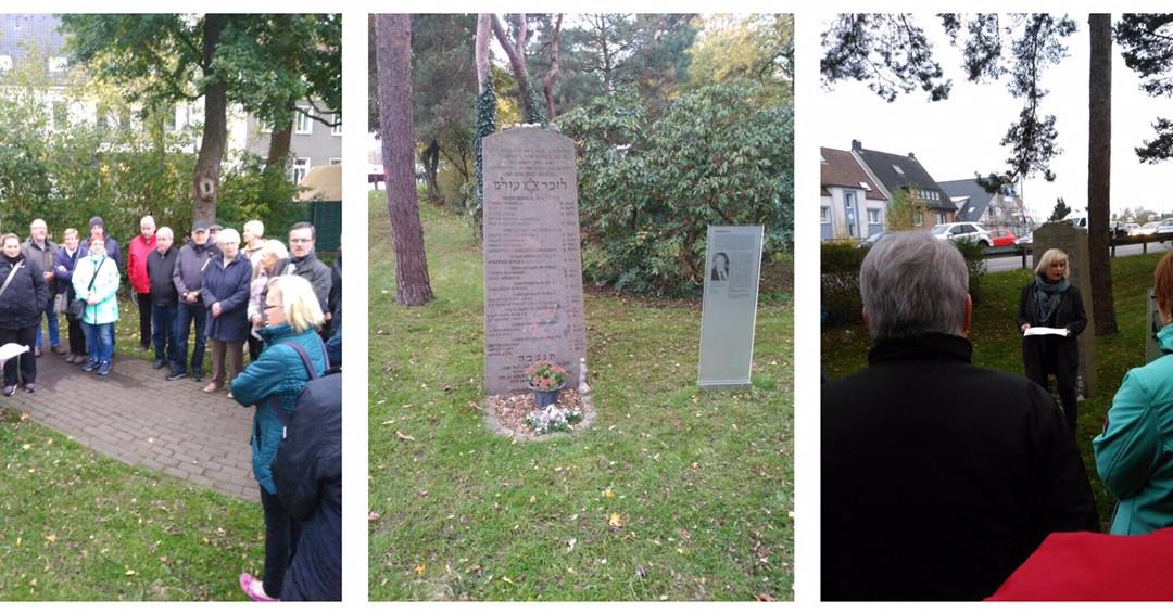 9. November 2018 Mahnendes Gedenken an Pogromnacht