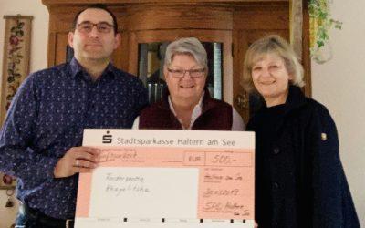 SPD überreicht Spendenscheck an Förderverein Khayelitsha