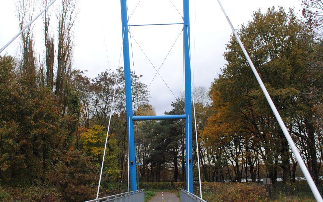 Brücke am Walzenwehr dauerhaft gesperrt
